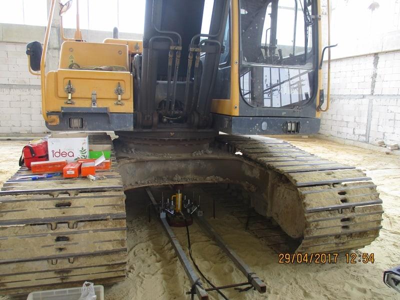 ทดสอบกำลังรับน้ำหนักของดิน plate bearing