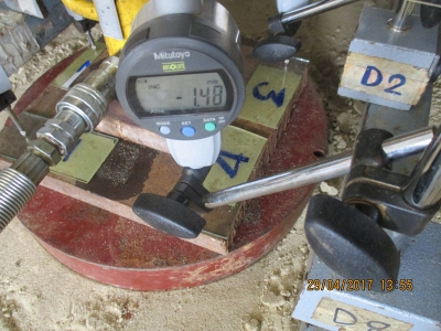 ติดตั้งเครื่องมือวัดความหนาแน่นของดิน