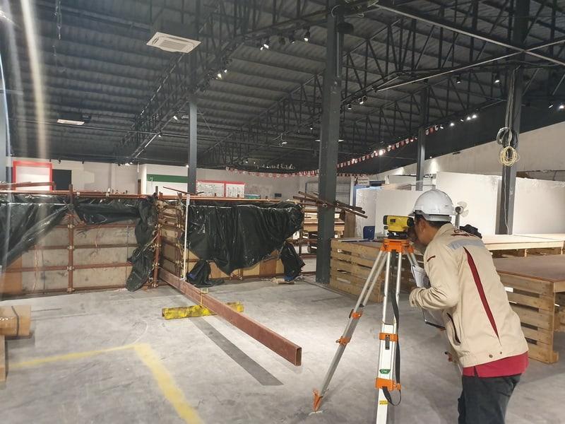 CTC-Static-floor-load-test-hafele