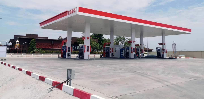 ESSO GAS STATION-PANO