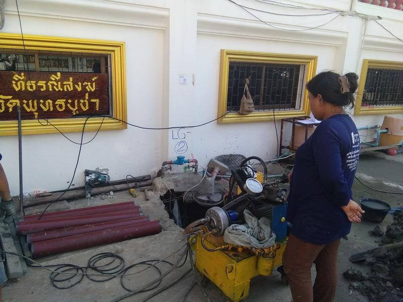 wat phut-เสริมฐานรากซ่อมอาคารทรุด-4